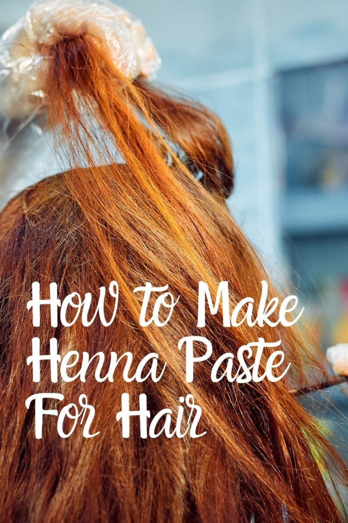 how to make henna paste for hair